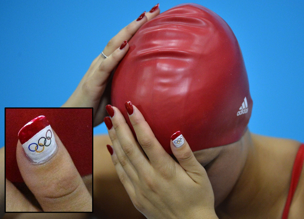17 images of nails of womens olympic swimming sportyversity prinsesfo Image collections